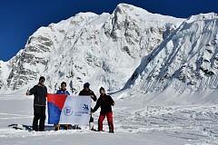 Наш флаг на Аляске